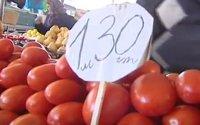 Bazarlarda pomidor ucuzlaşdı - VİDEO