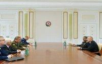Prezident Rusiya Silahlı Qüvvələrinin Baş Qərargah rəisini qəbul edib