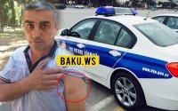 Azərbaycanda sürücü ilə yol polisi arasında insident yaşanıb