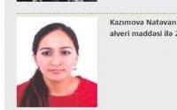 Azərbaycanın İnterpol xətti ilə axtarışa verdiyi qadın tutulub