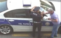 """""""Nə demişəmsə, mənə qəbul olunsun…"""" – Polisi təhqir edən sürücü (VİDEO)"""