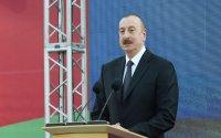 Prezident Sumqayıtın 70 illiyinə həsr olunan tədbirdə iştirak etdi