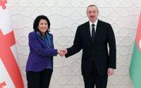 """""""İlham Əliyev zəmanəmizin ən uğurlu liderlərindən biridir"""" - Zurabişvili"""