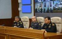 Generallar polkovniklər bir arada: Nazir tapşırıq verdi - Foto