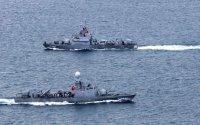 Helikopter dənizə düşdü: Türkiyə gəmisini göndərdi