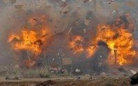 İsrail İranın PUA bazasını bombaladı - Ölənlər var (VİDEO)
