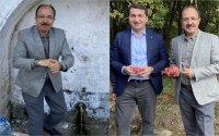 Türkiyə səfiri Suqovuşanda nar topladı - FOTO
