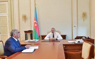 Prezident Saleh Məmmədovu qəbul etdi, SUALLAR VERDİ