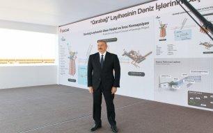"""Prezident: """"Qarabağ yatağında iki ildən sonra ilk neft-qaz çıxarılmalıdır"""""""