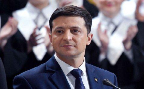 Vladimir Zelenski Prezident İlham Əliyevi təbrik edib