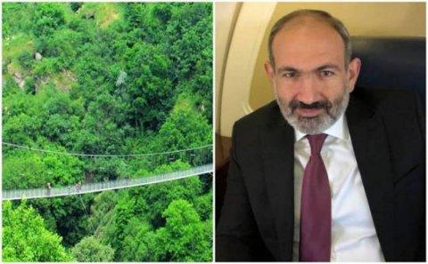 """Paşinyan Azərbaycan torpaqlarında bu dəfə """"Köçəri"""" MAHNISINA OYNADI-VİDEO"""