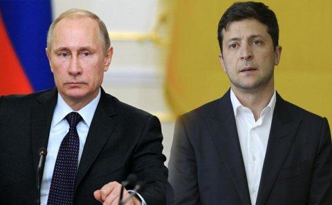 Zelenski Putinlə Donbasdakı durumu müzakirə edib