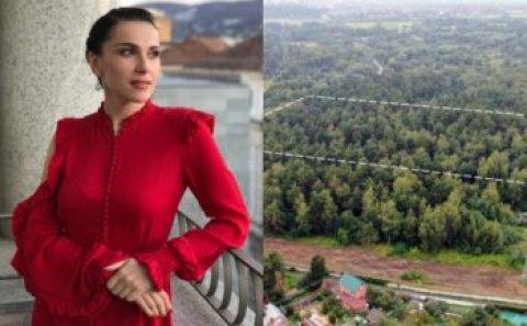 Azərbaycanlı aparıcı 45 milyonluq meşə sahəsi alıb – Fotolar