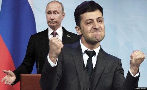 Zelenski Putini əsirləri buraxmağa razı salıb