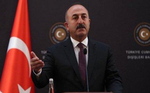 """""""Suriyanın şimalını terrorçulardan təmizləməkdə qərarlıyıq"""" – Mövlud Çavuşoğlu"""