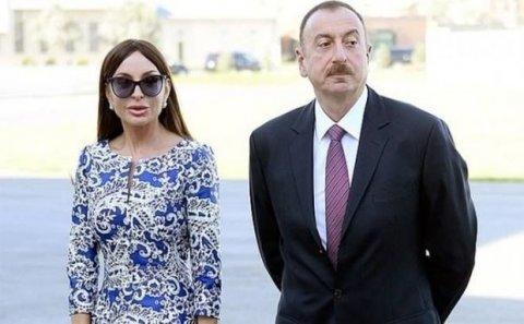 İlham Əliyev və Mehriban Əliyeva Şamaxıda