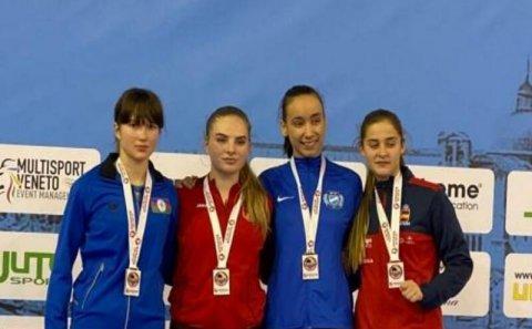 Karateçilərimiz İtaliyada 4-cü medalını qazandı