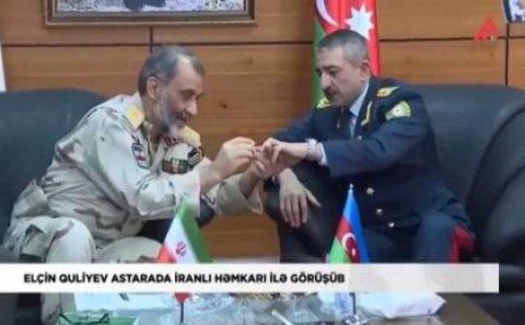 İranlı general Elçin Quliyevin barmağına niyə üzük taxdı? – Üzüyün hərbi-siyasi anlamı...