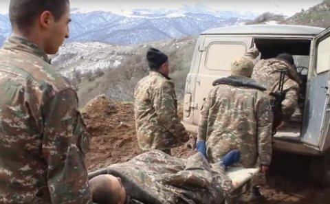 Ermənistan ordusu Qarabağda itki verdi