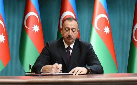 İlham Əliyev 5 sərəncam, 3 fərman imzaladı