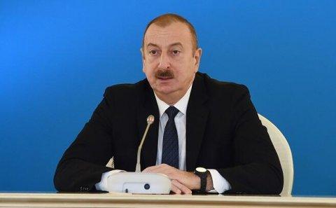 Xəzərdə ən böyük donanma bizə məxsusdur - Prezident