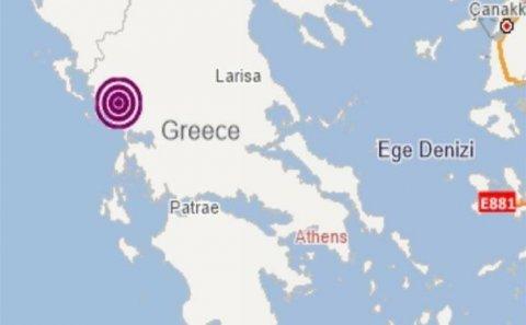 Yunanıstanda güclü zəlzələ