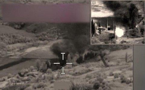 Düşmənin komanda məntəqəsi HAVAYA UÇURULDU- xeyli itki var- Video