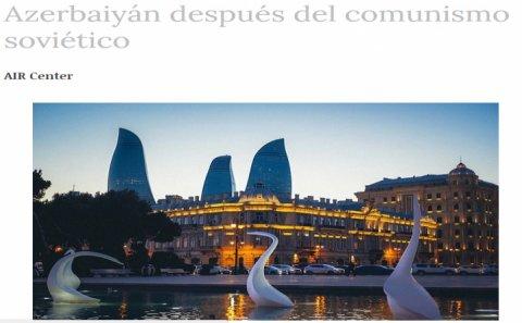 """""""5-ci kolon""""unun əks-sədası Argentinada: """"Sovet kommunizmindən sonrakı Azərbaycan"""""""