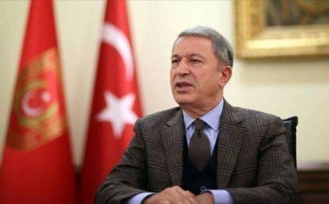 """Hulusi Akar: """"Hazırlıqlar başa çatıb, Türk əsgəri ən qısa zamanda Azərbaycana gedəcək"""""""