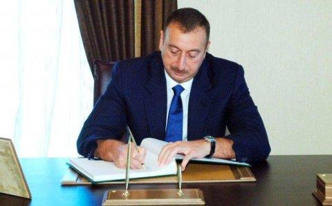 Prezident daha bir sərəncam imzaladı