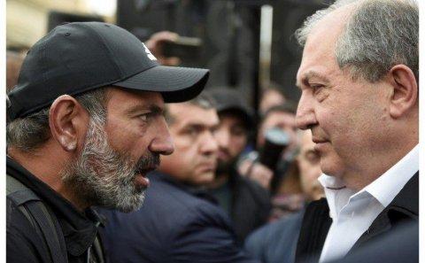 Ermənistan prezidenti ilə baş nazir arasında gərginlik davam edir