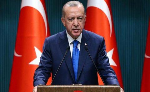 """Ərdoğan: """"Qardaşımız Azərbaycan torpaqlarını azad etməklə bölgədə yeni dövrün qapılarını açıb"""""""