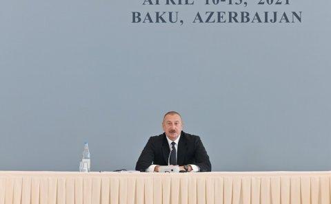 """Azərbaycan Prezidenti: """"Ermənistan intiqam almağa çalışsa, tamamilə məhv olacaq"""""""