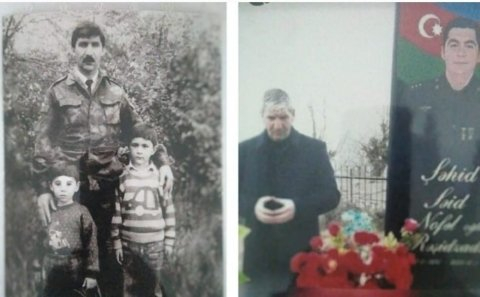 """Şəhid atası oğlunun döyüşdüyü yüksəkliyə QALXDI: """"Səidə həsəd apardım"""""""