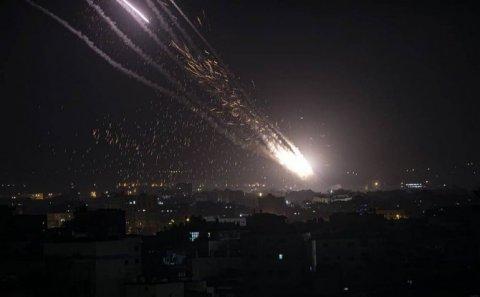 İsrail Fələstində 140 hədəfə zərbə endirib – Ölən və yaralananlar var