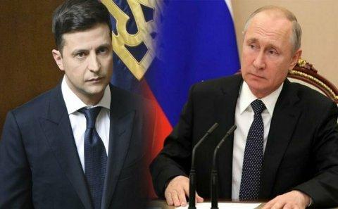"""Putindən Zelenskiyə şok mesaj: """"Görüşə bilərik, amma..."""""""